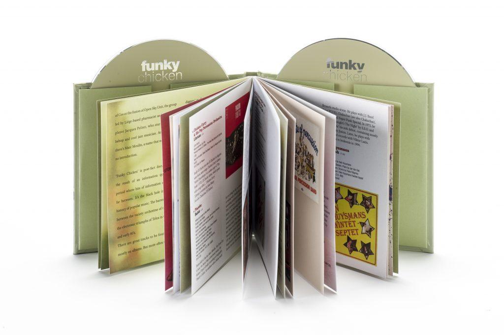 CD boekjes en CD hoezen van Replifact