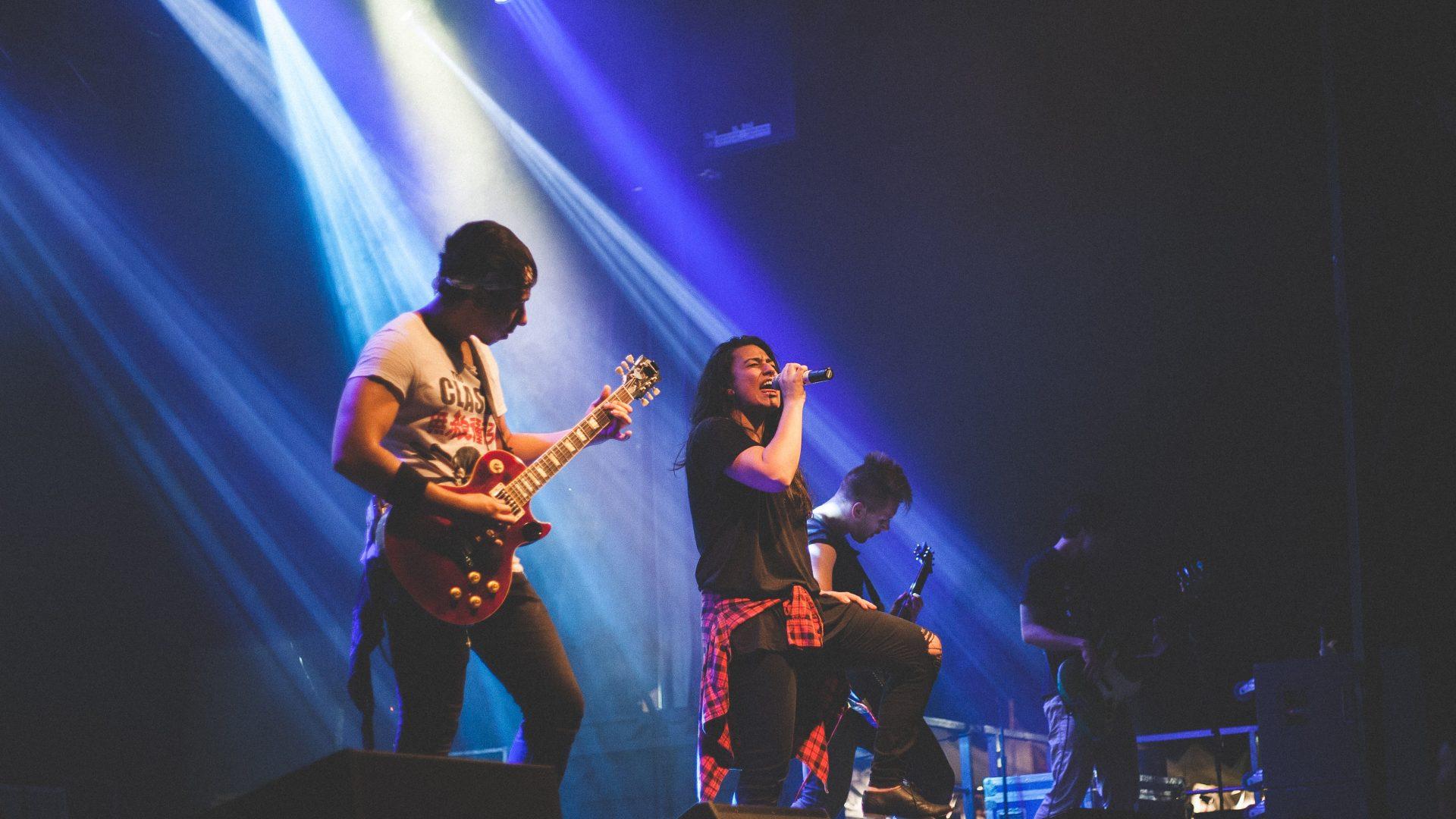 cd maken Replifact concert foto